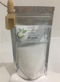 Feijoa 'Egyptian' Musk Bath Salts