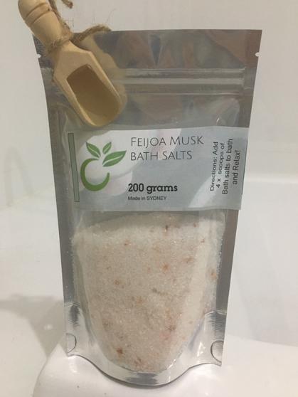 Feijoa Musk Bath Salts