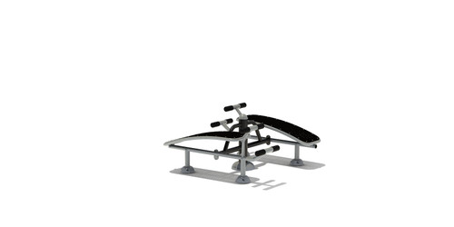 Double Sit-up Bench