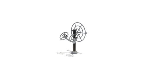 Accessible Stretching Wheel & Shoulder Rotator