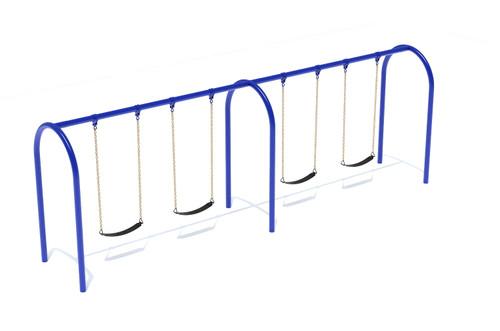 "3.5"" Arch Swing Frame 8ft- 2 Bay"