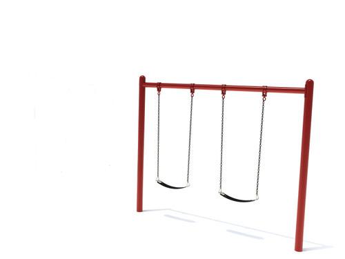 """5"""" Single Post Swing Frame 8ft- 1 Bay"""