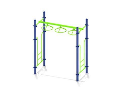 Free Standing Wheel Challenge Ladder