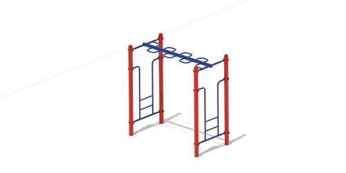 Free Standing Overhead Snake Ladder