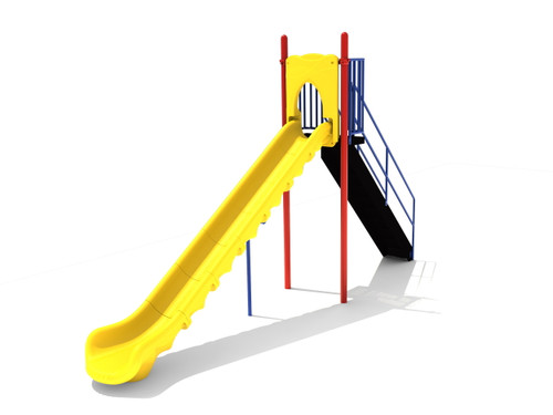 7' Free Standing Single Sectional Slide