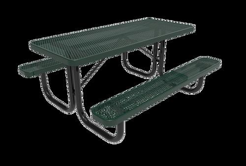 6' park picnic table
