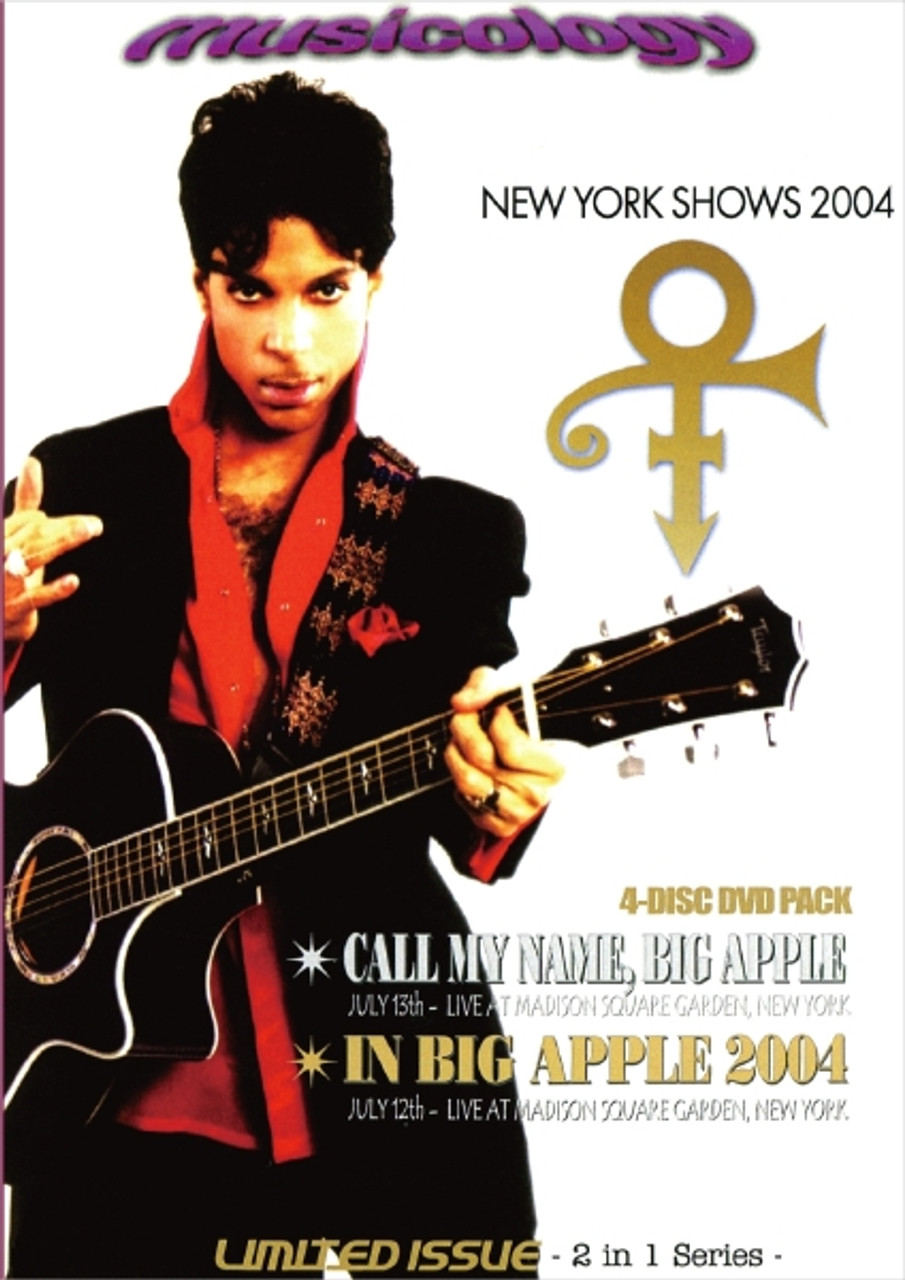 Prince Madison Square Garden 2004 4 DVD 275 min