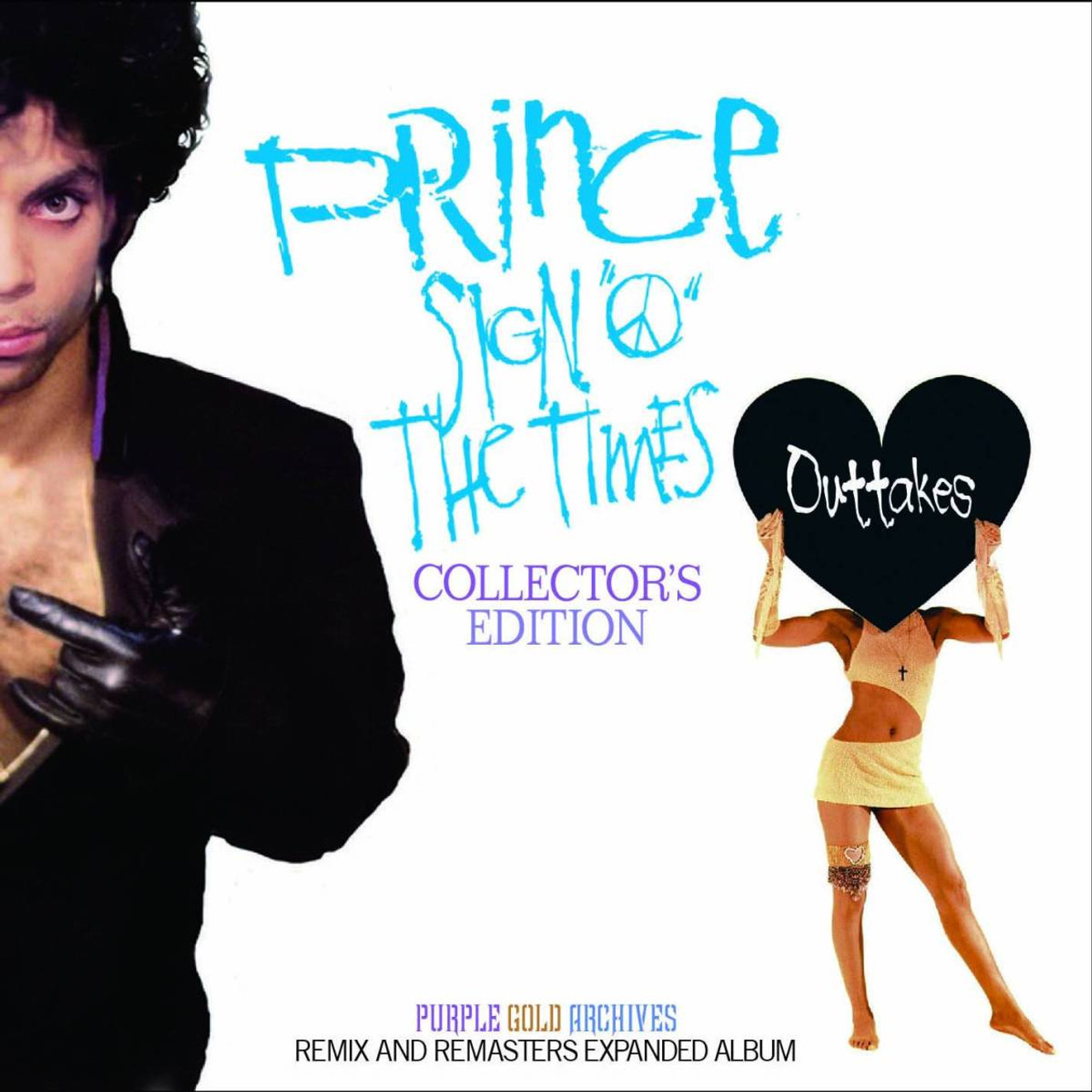 PRINCE SIGN O THE TIMES OUTTAKES COLLECTOR'S EDITION 2CD