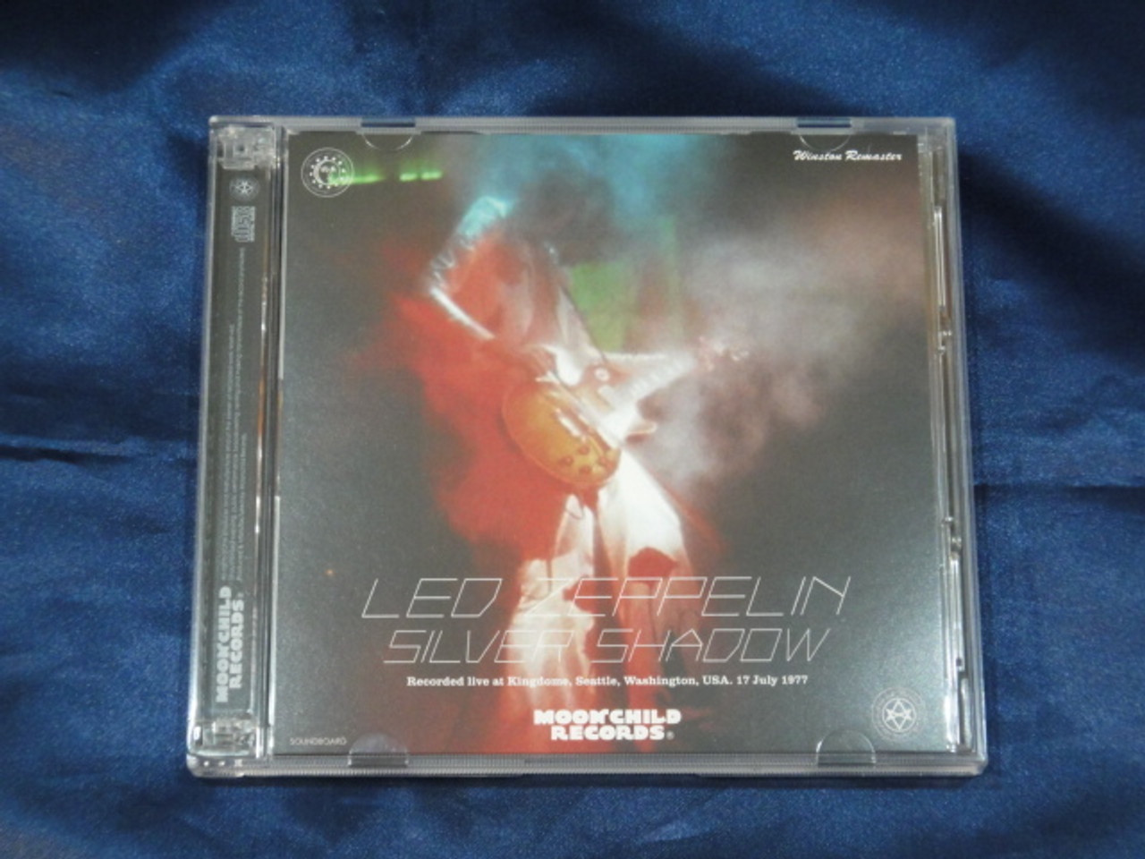 Led Zeppelin Silver Shadow 3 CD Moonchild Records