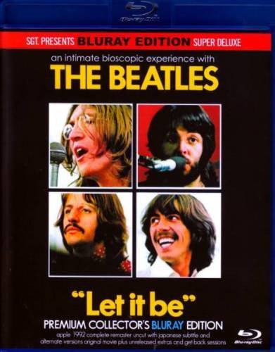 The Beatles - Let it Be Premium Collectors Edition 2 Blu Ray Set