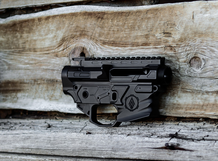 Billet upper receiver and lower receiver set. machined from the highest quality 7075 T6 aluminum.