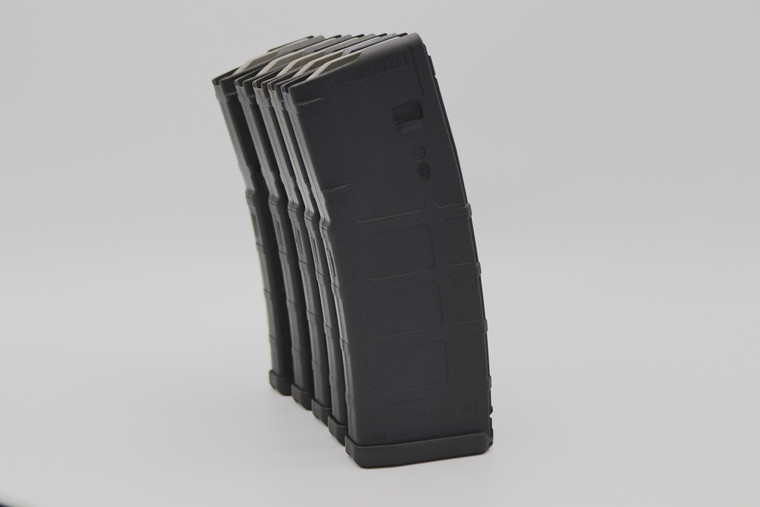 Magpul PMAG 30 Gen M2 Rifle magazine 5-pack. Compatible with AR15, M16, M4.