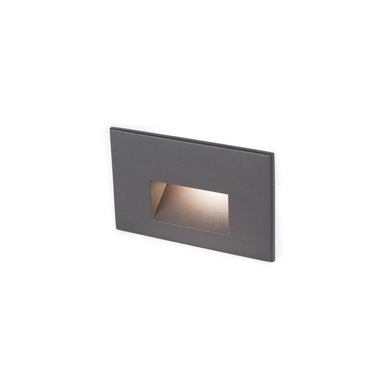 Rectangular Step Light Bronze