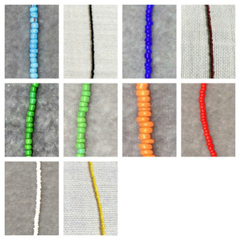 Opaque Seed Bead Necklace