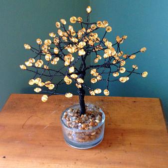 Small Rondelle Halloween Tree