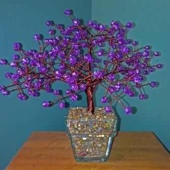 Large Purple Tree