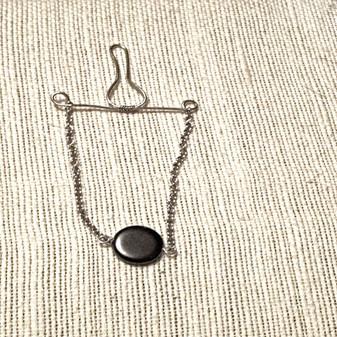 Hematite Tie Chain