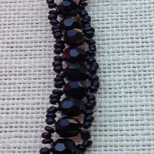 Black Weaved Bracelet