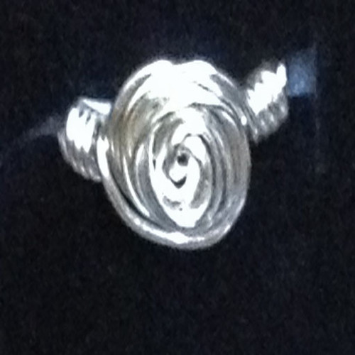 Simple Spiral Ring