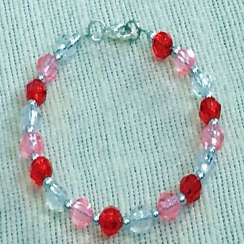 6mm Valentine's Day Bracelet