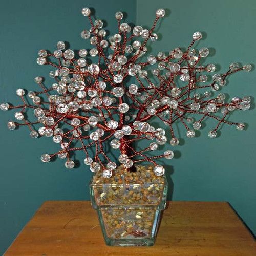 Large Clear Crackle Tree