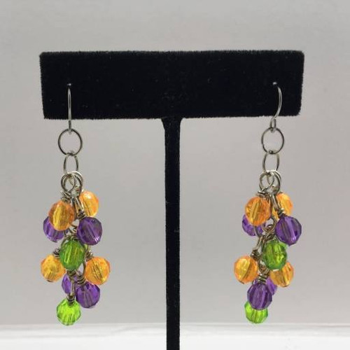 Sally Cluster Earrings