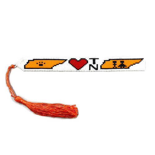 Tennessee Beaded Bookmark