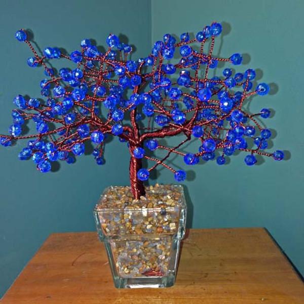 Large Blue Tree