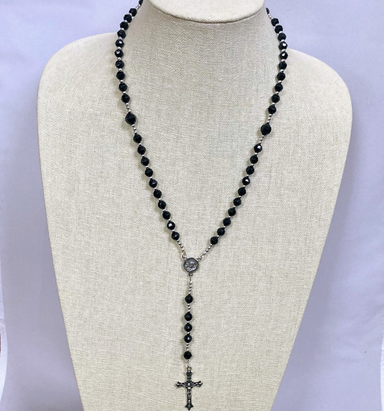 Acrylic Faceted Rosary
