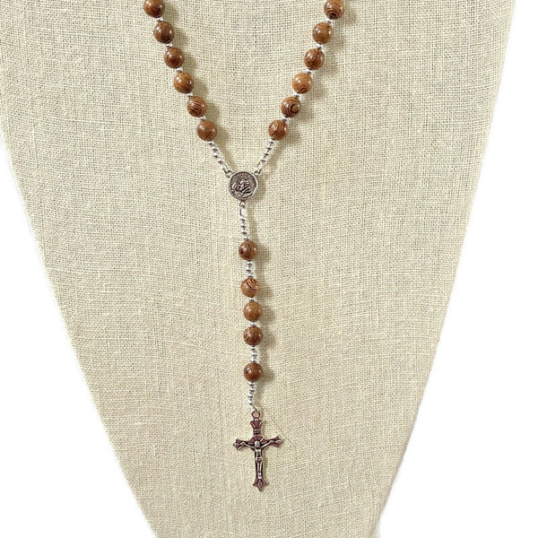 Roble Wood Rosary