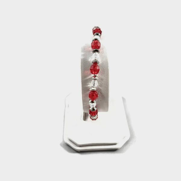 6mm Candy Cane Bracelet