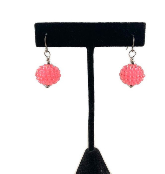 Berry Bead Earrings