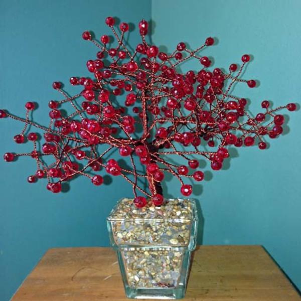 Large Dark Red Tree