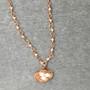 Copper Nest Necklace
