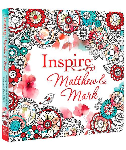 Inspire Coloring & Creative Journaling: Matthew & Mark
