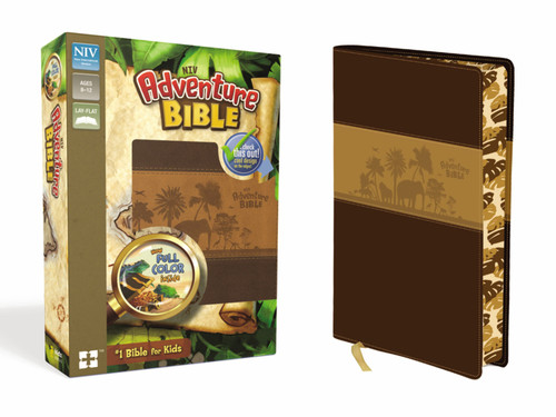 NIV Adventure Bible, Chocolate/Toffee Leathersoft