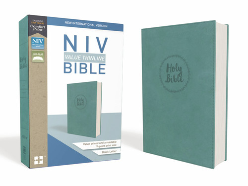 NIV Value Thinline Bible, Teal