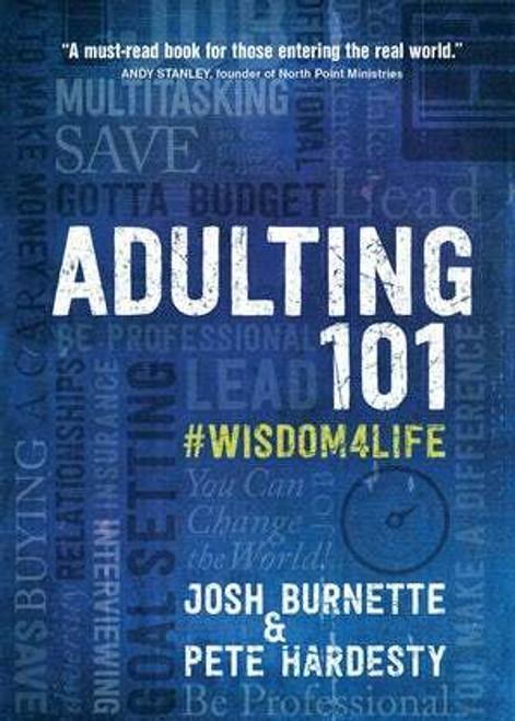 Adulting 101 (hardcover) by Josh Burnette & Pete Hardesty