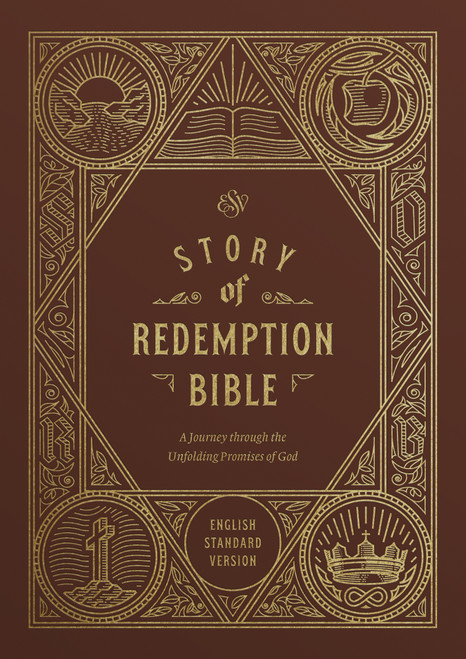 ESV Story of Redemption Bible, Brown TruTone