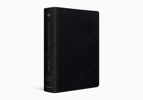 ESV Systematic Theology Study Bible, Black Genuine Leather
