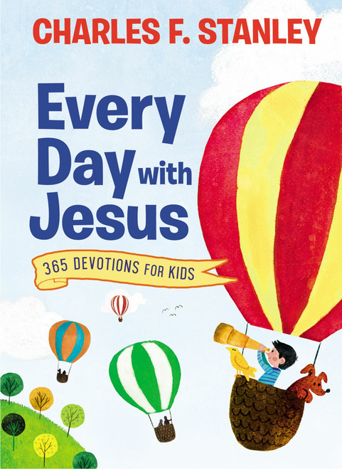 Every Day with Jesus: 365 Devotions for Kids by Charles Stanley