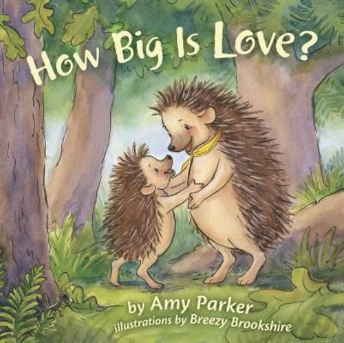 How Big Is Love? (padded board book) By Amy Parker