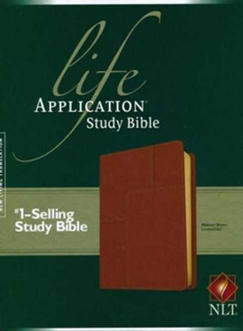 NLT Life Application Study Bible 2nd Ed., Midtown Brown Thumb-Indexed