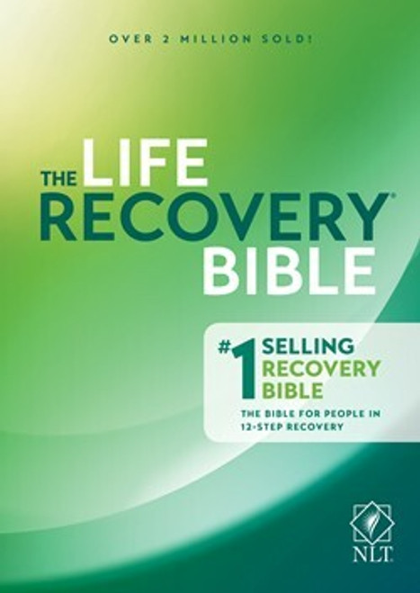 NLT Life Recovery Bible, Second Edition, Hardcover