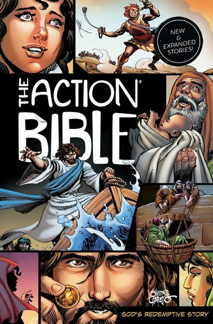 The Action Bible Expanded Edition: God's Redemptive Story