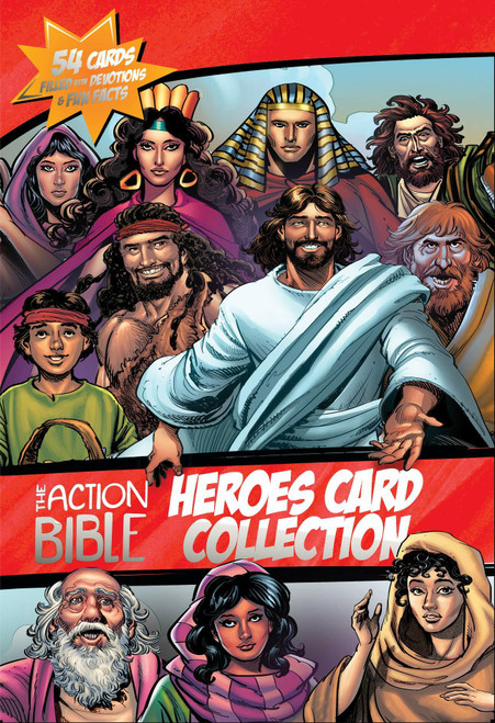 The Action Bible Heroes Card Collection: 54 Cards Filled with Devotions and Fun Facts by Sergio Cariello