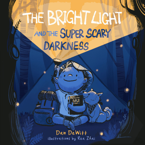 The Bright Light and the Super Scary Darkness (hardcover) by Dan Dewitt