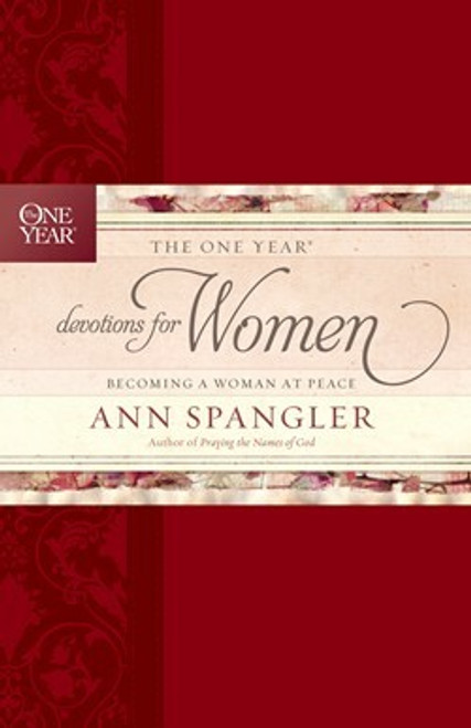 The One Year Devotions for Women LeatherLike by Ann Spangler