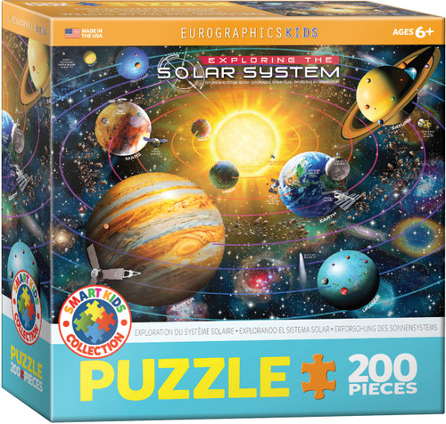 Exploring The Solar System 200 Piece Puzzle