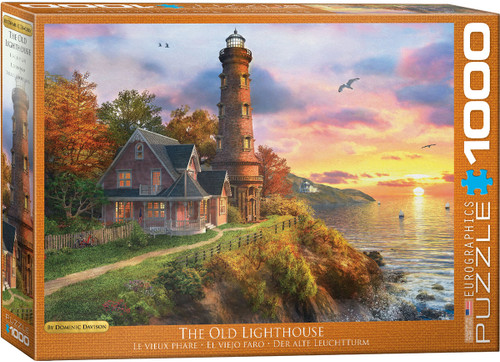 The Old Light House 1000 Piece Puzzle